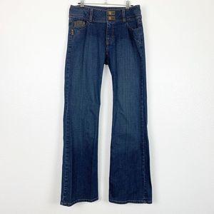 Cabi Contemporary Fit Blue Medium Wash Denim Jeans